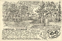 Holy Cross & Old Union Cemeteries - Route 66 Postcard