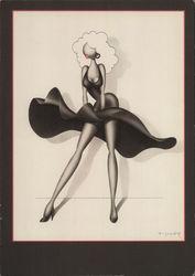 Stylized Marilyn Monroe