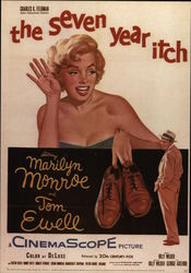 """The Seven Year Itch,"" Starring Marilyn Monroe and Tom Ewell"