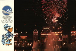1984 Louisiana World Exposition - Fireworks over the Mississippi