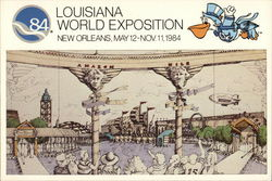 Louisiana World Exposition, New Orleans, May 12-Nov. 11, 1984