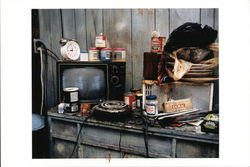 A Neighborhood Kitchen in a Home Being Rehabilitated, 1999