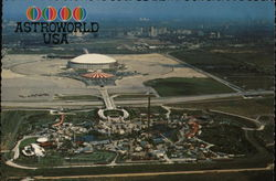 Astrodome and Astroworld