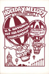 Holiday Melody Welcomes the US National Hot Air Balloon Championship