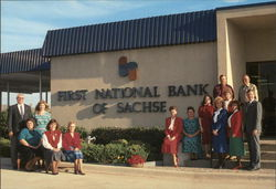 First National Bank of Sachse, Group Outdoors