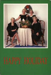 Happy Holiday - Four Women at Table - O. P. Gershwins