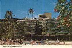 Sheraton-Maui Resort Hotel Kaanapauli Beach