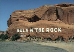 World-Famous Hole in the Rock Home Postcard