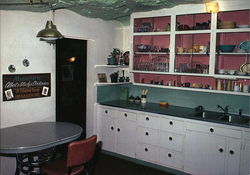 Kitchen of the World Famous Hole N' The Rock Home