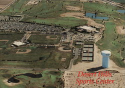 Desert Hills Sports Center Postcard