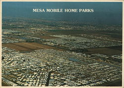 Aerial View of Mobile Home Parks