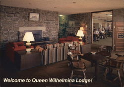 Lobby of Queen Wilhelmina Lodge