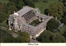 Belcourt Castle - Aerial View