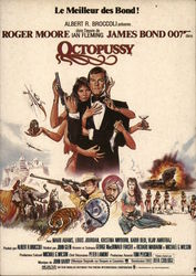 James Bond Octopussy - French Poster