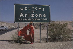 Welcome to Arizona, The Grand Canyon State Postcard
