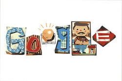 Google Doodle - Father's Day 2013