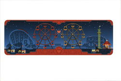 Google Doodle Valentine's Day and George Ferris' 154th Birthday 2013
