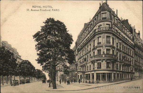 Royal Hotel Paris France