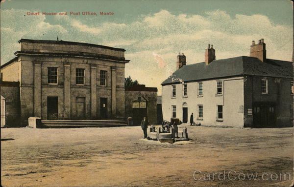 Court House and Post Office Moate Ireland