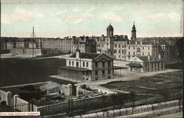 Royal Naval Barracks Devonport England