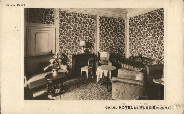 Grand Hotel de Russie - Rome - Salon Privè Italy