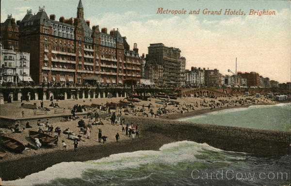 Metropole and Grand Hotels Brighton England Sussex