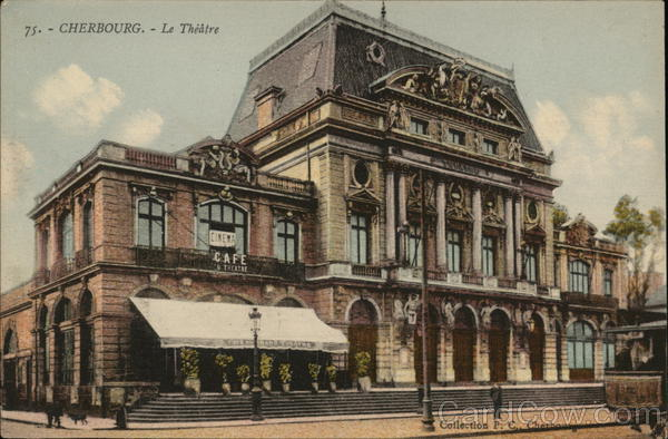 Le Theatre Cherbourg France Collection F. C.