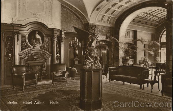 Berlin. Hotel Adlon. Halle Germany