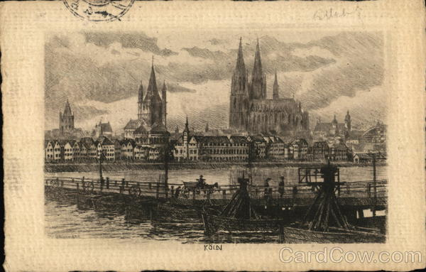 Koln (View) Cologne Germany