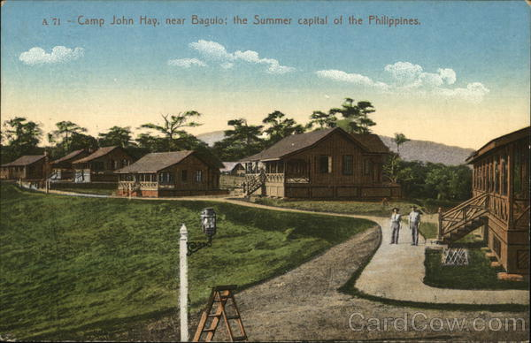 Camp John Hay, Near Baguio; The summer capital of Philippines City of Baguio