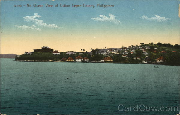 Culion Leper Colony Philippines Southeast Asia