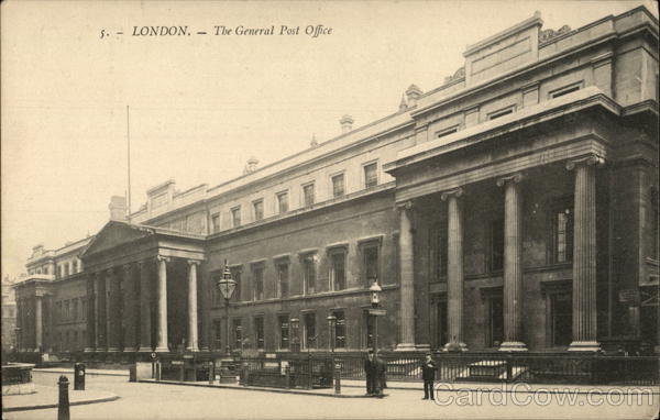 The General Post Office London England