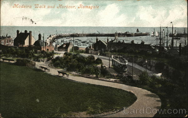 Madeira Walk and Harbour Ramsgate England Kent