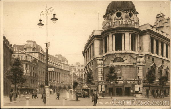 The Gaiety Theatre & Aldwych London England