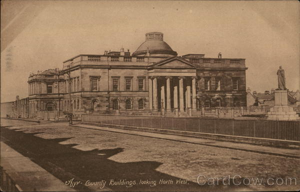 County Buildings Ayr Scotland