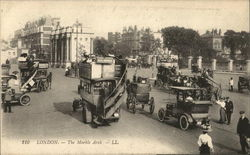 210. London - The MArble Arch - LL. Postcard