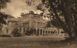 A.T. Government House, Trinidad