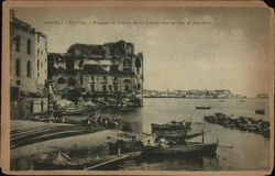 Posillipo - Palazzo di Donna Anna Carafa and Fishing Boats