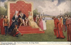 Warwick Pageant: The vist of Warwick, the King-Maker to the Court of Lewis