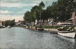 On the canal, Lachine