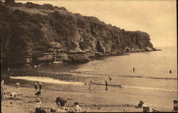 Paignton. Goodrington Beach Postcard