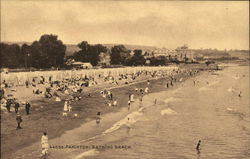 Bathing Beach Postcard