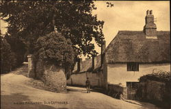 Old Cottages Postcard