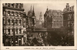 Ludgate Hill and St. Paul's Cathedral