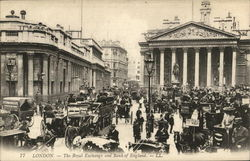 The Royal Exchange and Bank of England