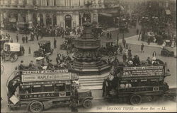 Piccadilly Circus - Motor Bus