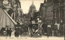 London - Fleet Street Postcard