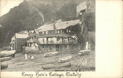 Crazy Kate's Cottage Postcard