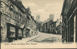 Jews House and Steep Hill, Lincoln