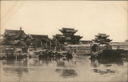 (View of Shangai China) Postcard